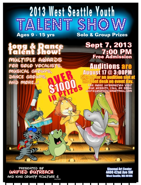 Summer 2013 West Seattle Youth Talent Show!