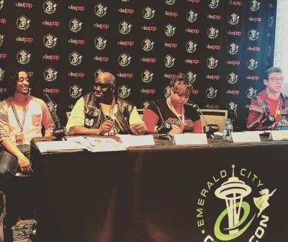 Comic Con Panel 2018