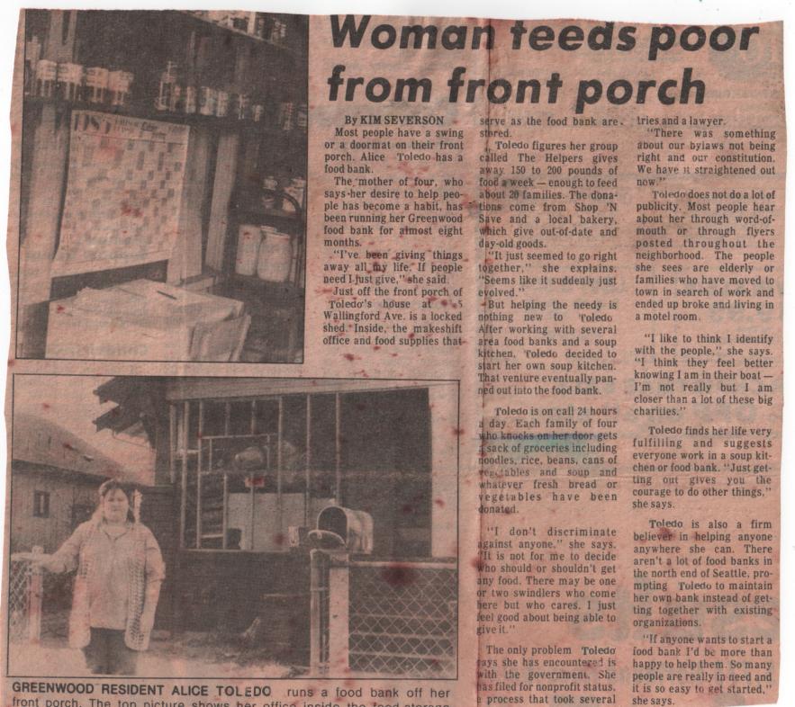 Mom Samaritan Porch
